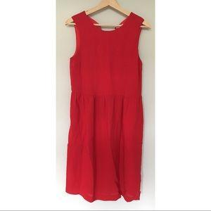 Steven Alan red shift dress size 4